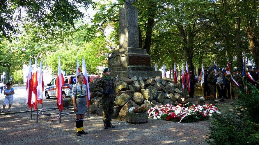 zdjęcie przedstawia uroczystości 1 września