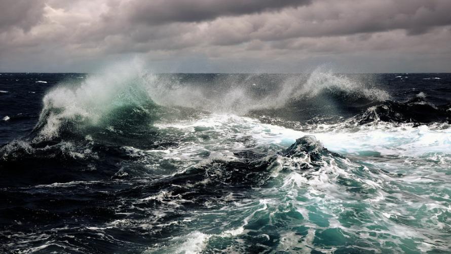 zdjęcie przedstawia burzę