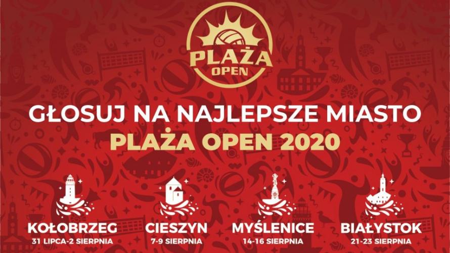 Plaża Open 2020 dla Miasta Kołobrzeg
