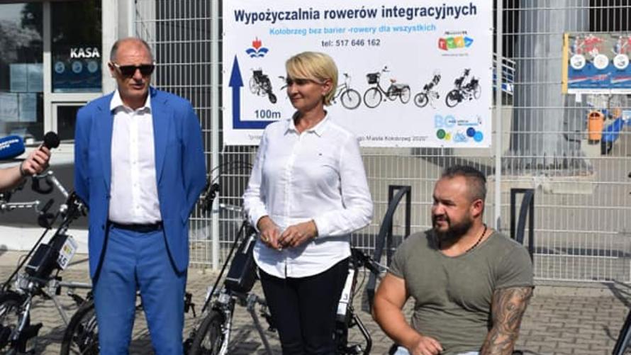 Kołobrzeg bez barier – rowery dla wszystkich