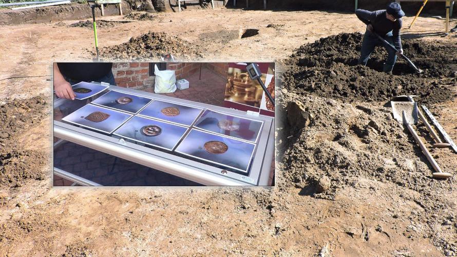 Monety sprzed tysiąca lat znalezione w Budzistowie