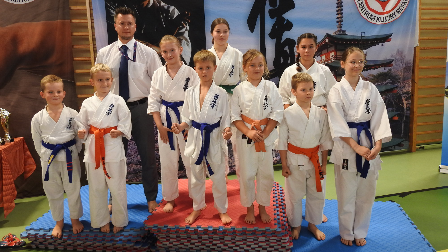 Wojewódzka Olimpiada Młodzieży Kyokushin Karate