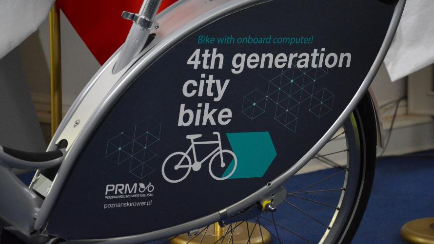 Rower miejski 4 generacji