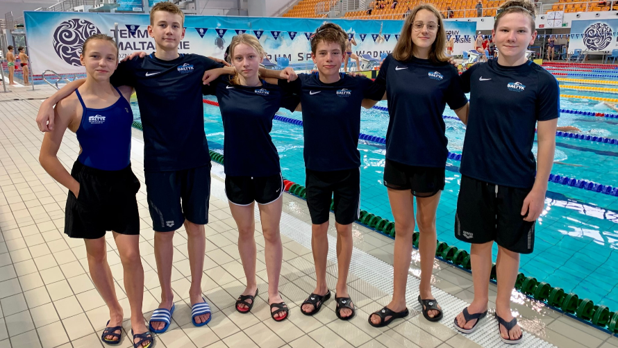 Ogólnopolskie Zawody Pływackie 9 Urodziny Term Maltańskich