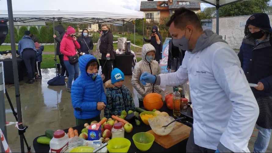 Warsztaty ogrodnicze i kulinarne - zdrowo ogrodowo