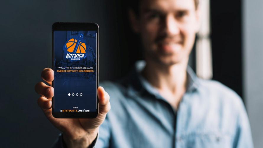 Aplikacja mobilna Energa Kotwica Kołobrzeg