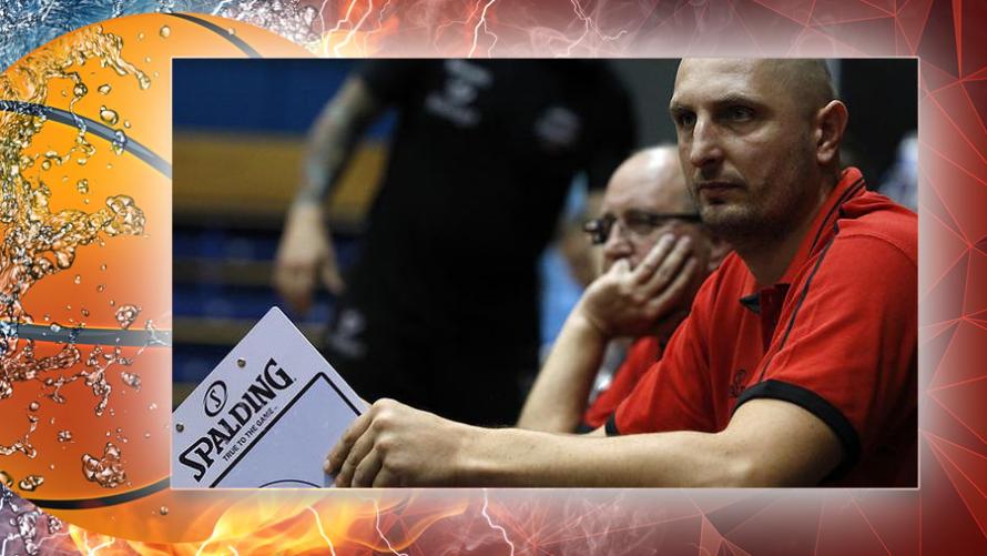 Rafał Frank trenerem koszykarzy