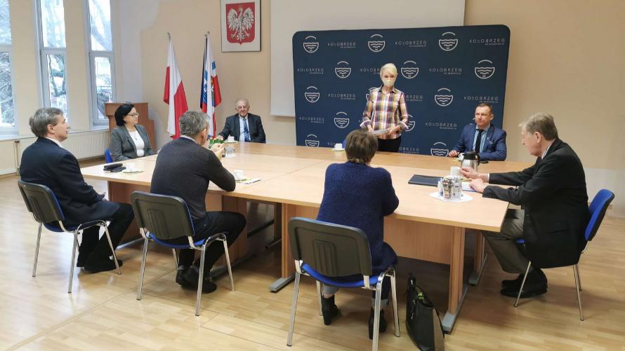 Posiedzenie nowej kadencji Kapituły ds. nadawania tytułów Honorowy Obywatel Kołobrzegu oraz Zasłużony dla Miasta Kołobrzegu
