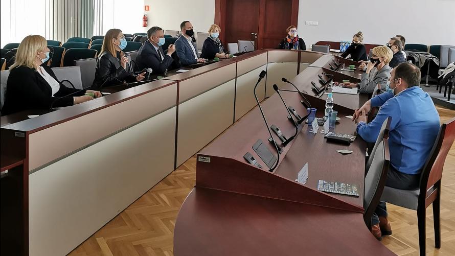 Spotkanie w sprawie rozwoju partnerstwa ZIT
