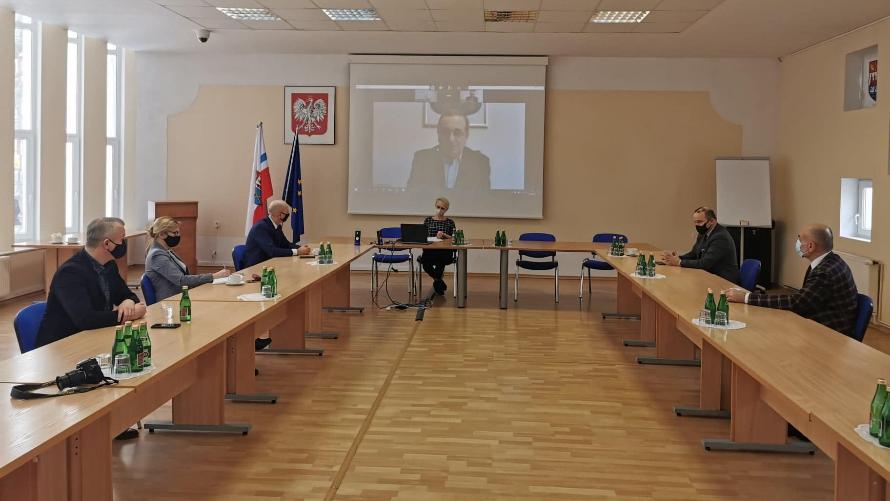 Spotkanie z włodarzami gmin uzdrowiskowych