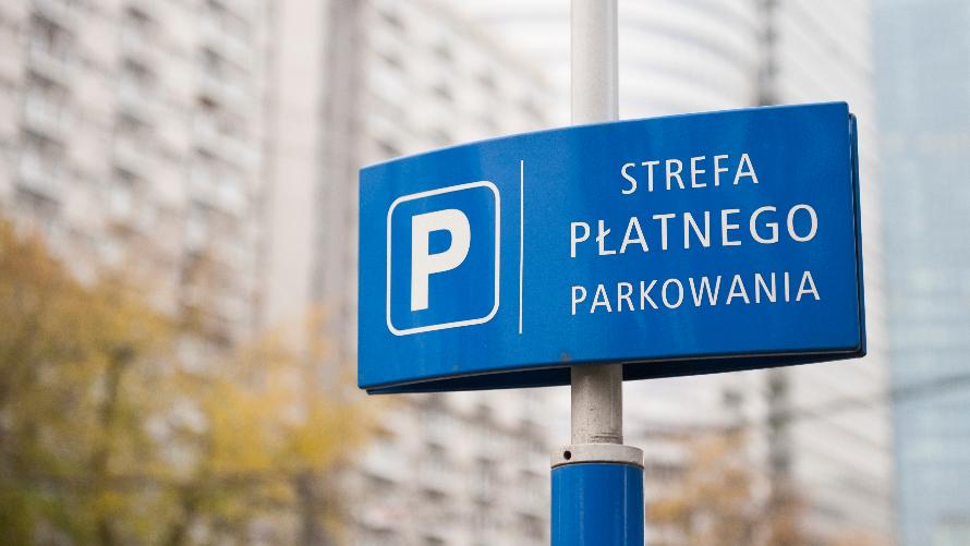strefa płatnego parkowania przy ul. Wschodniej