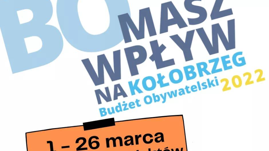 Budżet Obywatelski - można zgłaszać projekty