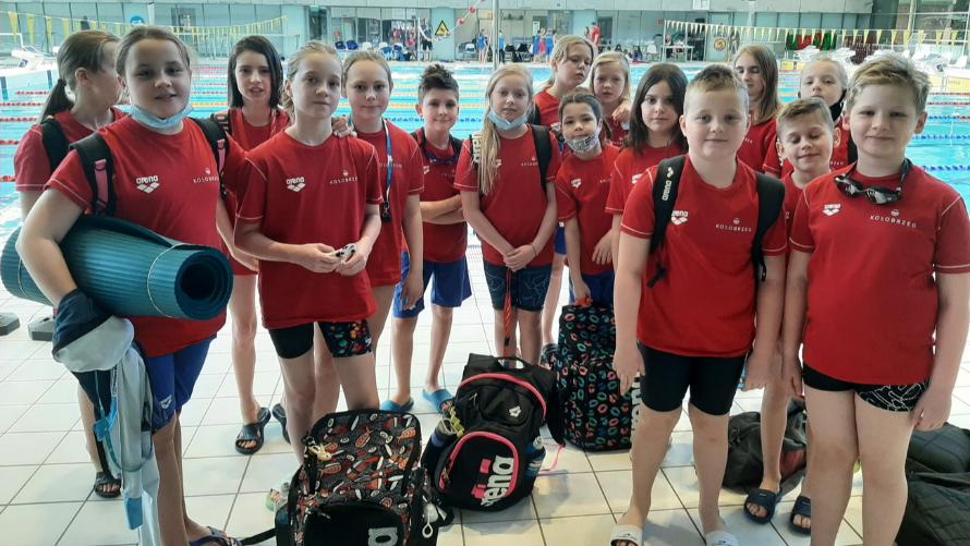Udany start MKP na Zachodniopomorskiej Lidze Pływackiej
