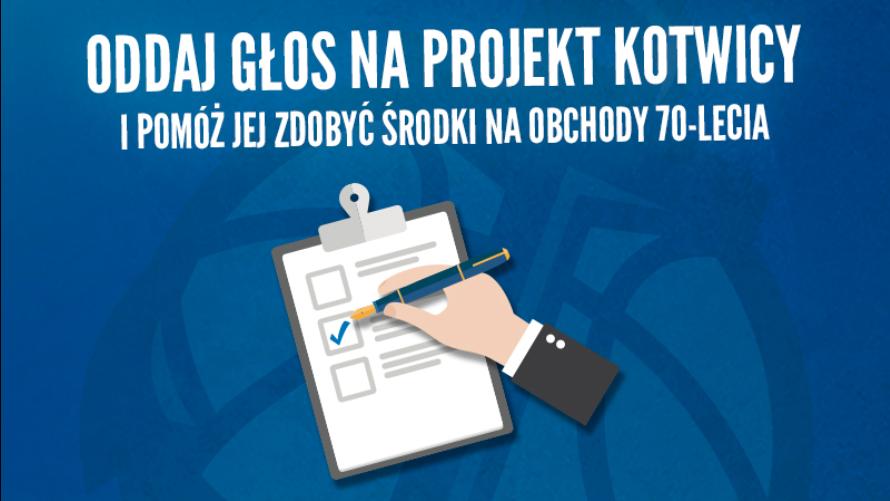 Zagłosuj na projekt Kotwicy i pomóż jej zdobyć środki na obchody 70-lecia