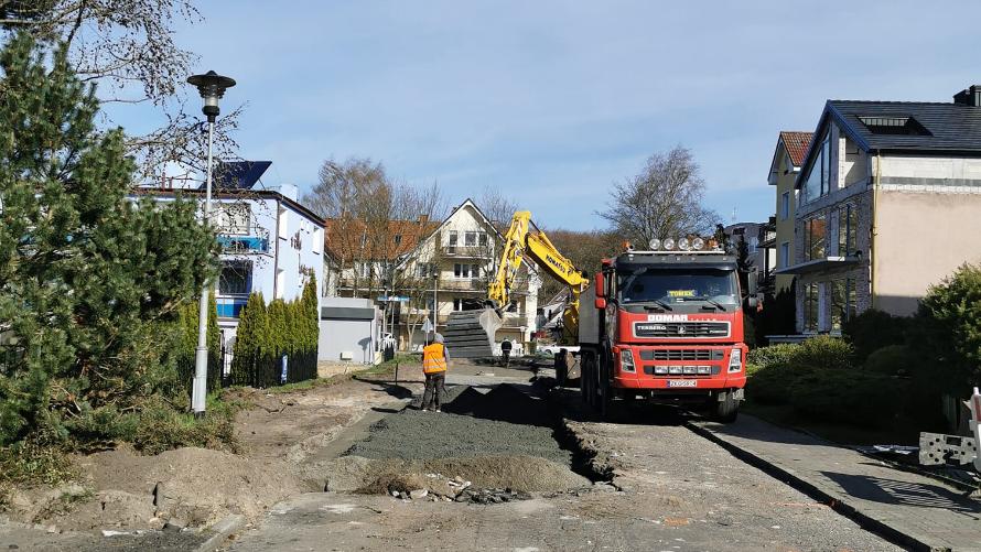 Przebudowa ulicy Wierzbowej rozpoczęta.