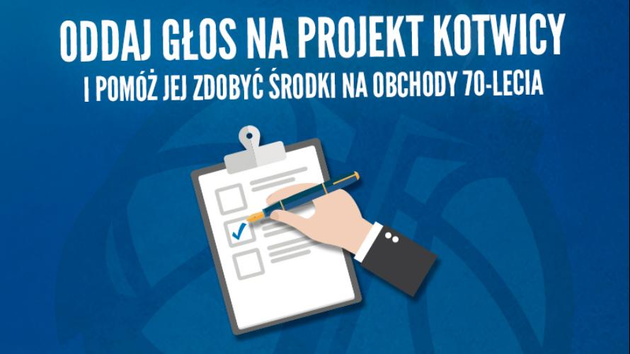 Ostatnie dni głosowania na projekt Kotwicy