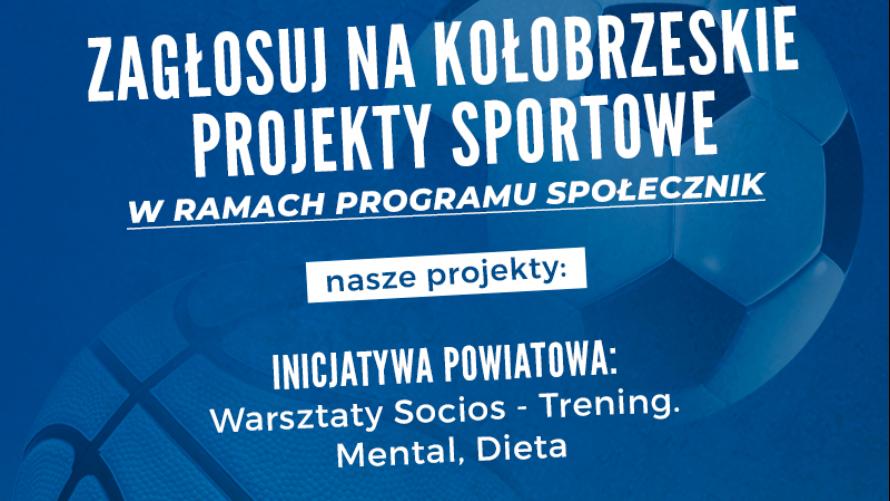 Głosuj na kołobrzeskie projekty sportowe w ramach programu Społecznik