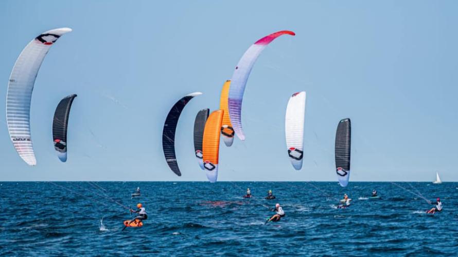 zdjęcie z zawodów Kołobrzeg Kite Challenge zakończony