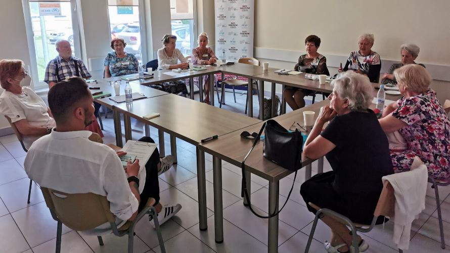 Trwa projekt - Profesjonalne i zaangażowane Rady Seniorów