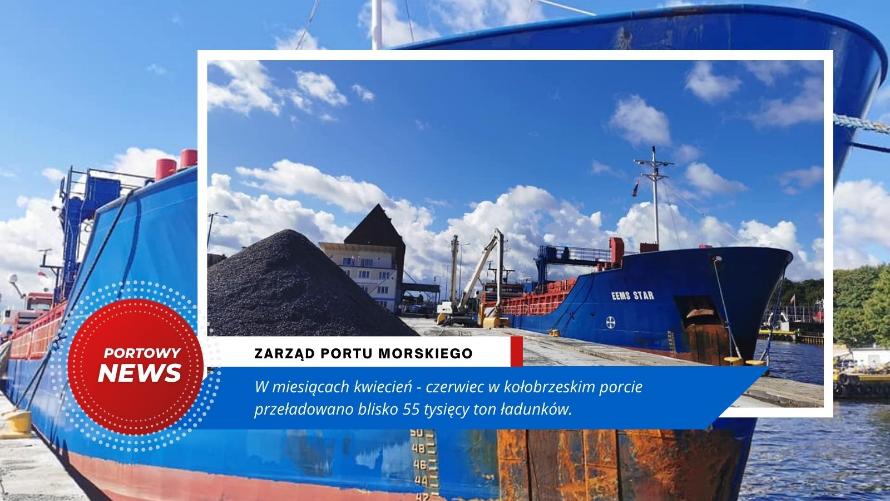 55 tysięcy ton ładunków
