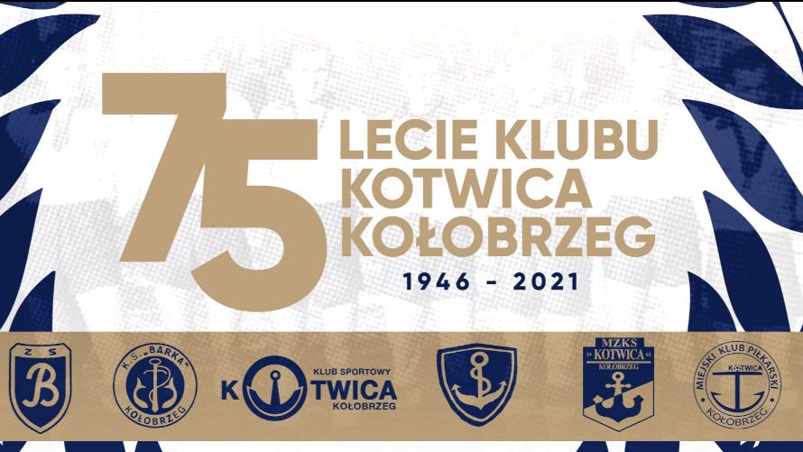 75-lecie Klubu Kotwica Kołobrzeg