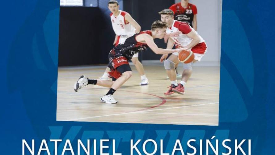 Nataniel Kolasiński zawodnikiem Kotwicy