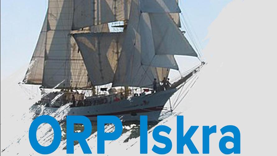 Żaglowiec Marynarki Wojennej ORP Iskra zawita do Kołobrzegu