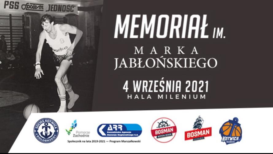 I Memoriał Imienia Marka Jabłońskiego