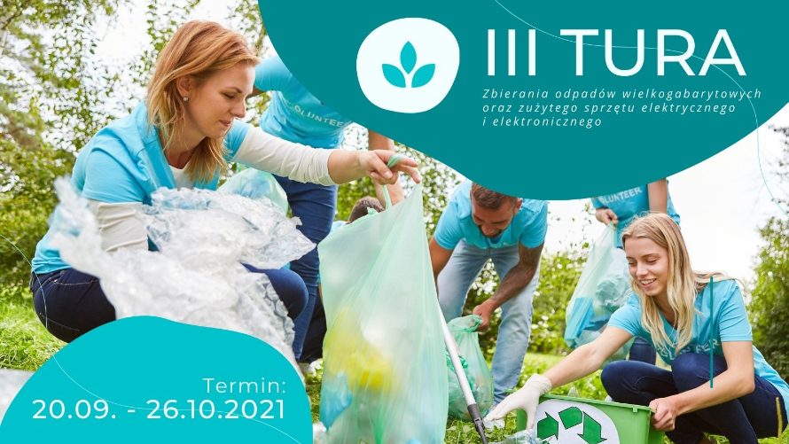 Zbiórka odpadów wielkogabarytowych - III tura 2021