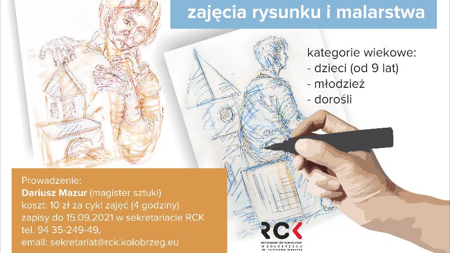 Zajęcia z malarstwa i rysunku