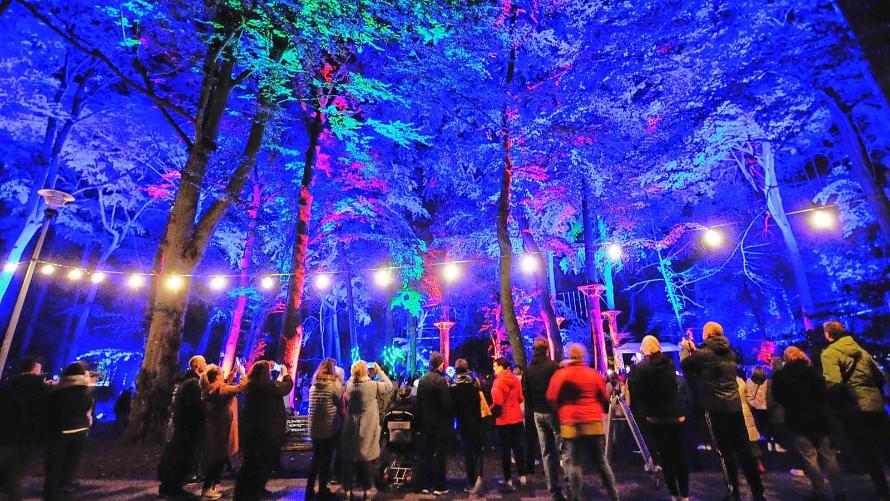 Festiwal świateł i kolorów NOC KOLORÓW
