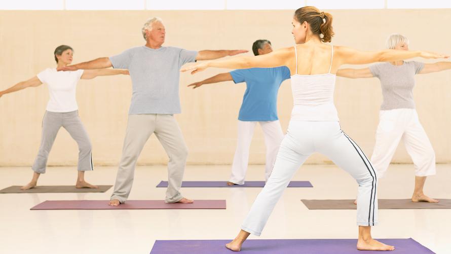 Organizacja zajęć sportowo - rekreacyjnych dla seniorów
